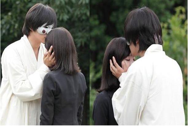 """""""Bridal Mask"""" kiss..."""